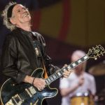 Keith Richards, una guitarra rítmica de impresión.
